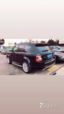 Rover in Tripoli - Range Rover SuperCharged
