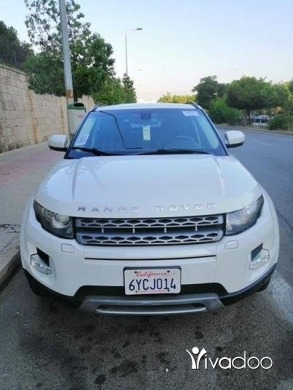 Rover in Beirut City - RANGE ROVER EVOQUE MODEL 2012 CLEAN CAR FAX 1 OWNER