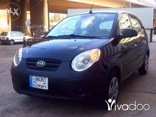 Kia in Port of Beirut - Kia picanto 2011 black