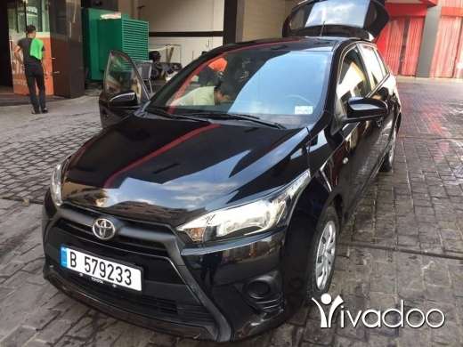 Toyota in Port of Beirut - Toyota Yaris