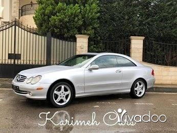 Mercedes-Benz in Tripoli - Mercedes CLK