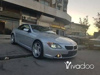 BMW in Tripoli - 645i model 2004