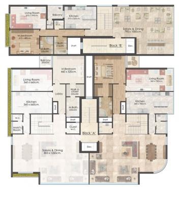 Apartments in Bir Hassan - دوبلكس للبيع في بئر حسن 450م