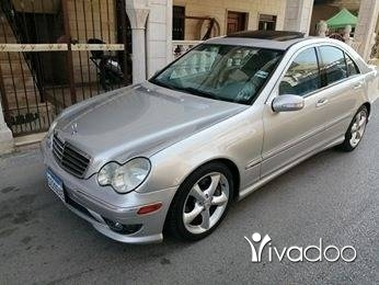 Mercedes-Benz in Ardeh - C 230 sport mod 2005 اربعة سلندر ٢٠٠ كلم /20 ليتر