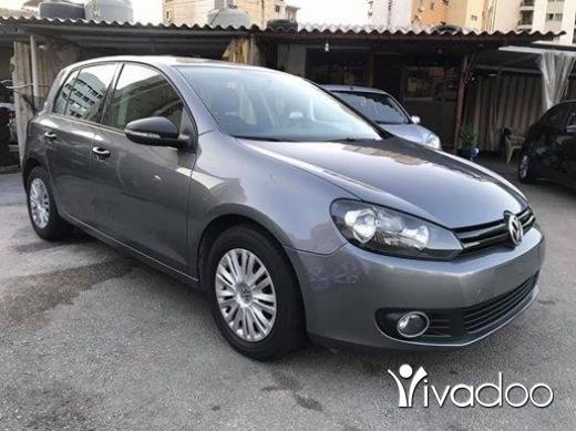 Volkswagen in Tripoli - For sale Golf model 2012 msdar chrkt lebanon full option supper ndifi☎️03/355104