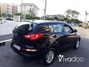 Kia in Tripoli - كيا سبورتاج شركة 4X4 2011