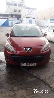 Peugeot in Tripoli - بيجو 207 موديل 2011 فيتاس عادي