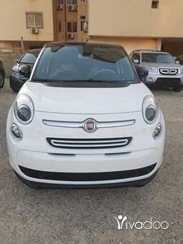 Fiat in Tripoli - For sale fiat 500L modell 2014 ajnabiye full option 77000 miles