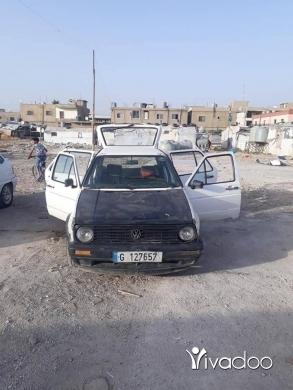 Volkswagen in Port of Beirut - سياره كولف 2
