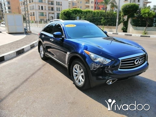 Infiniti in Beirut City - INFINITY FX 37 LIMITED Model : 2013