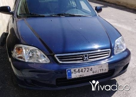 Honda in Ber Elias - هوندا
