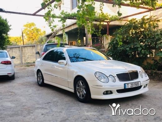 Mercedes-Benz in Beirut City - Mercedes E320 brabus ( tsjil daruri )