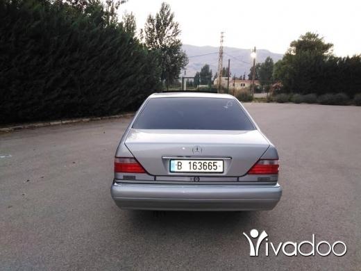 Mercedes-Benz in Zahleh - شبح ٣٢٠ موديل ٩٥ مسجلي مكانيك توب بعدا كيان شركة