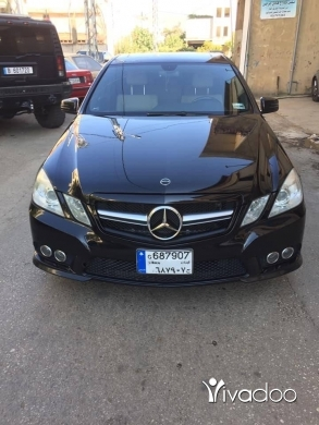 Mercedes-Benz in Beirut City - mercedes E 350 2010