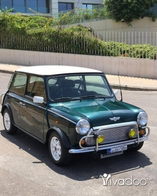 Mini in Port of Beirut - Mini Cooper Clubman 1992