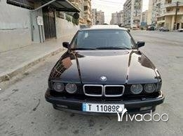 BMW in Tripoli - BMW 735 model 92