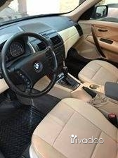 BMW in Beirut City - Bmw x3 model 2004 full option panoramic 3le 5 arkam 60000 miles excellent condition