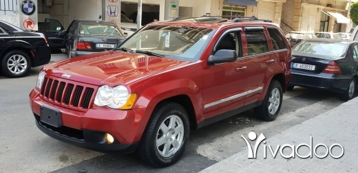 Jeep in Beirut City - GRAND CHEROKEE V6 LIMIED model 2010