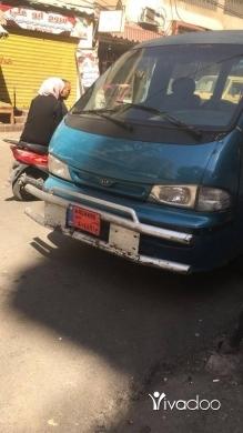 Vans in Beirut City - فان عمومي للبيع والنمرة للايجار
