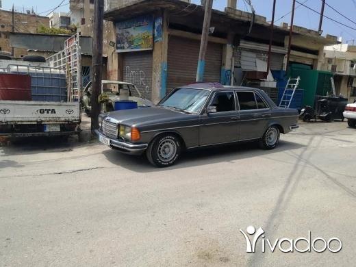Mercedes-Benz in Tripoli - لف ٢٨٠ موديل ٨٣ مازوت ٥ قديم الماني اوتوماتيك مقطوع ٢٠١٨