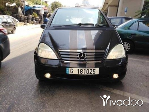 Mercedes-Benz in Beirut City - Mercedes Benz A140 model 1999 full option 5ar2a. 03849278