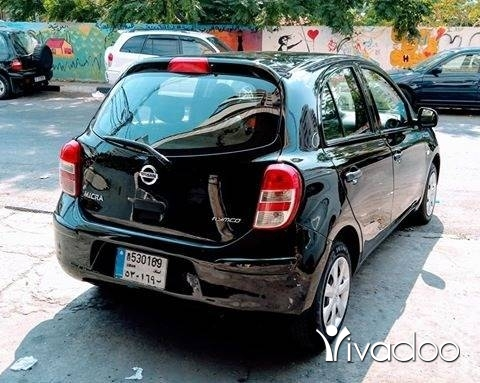 Nissan in Beirut City - Nisan micra 2013 one owner