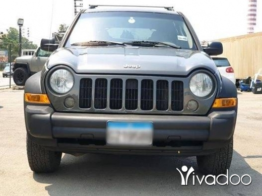 Jeep in Beirut City - 2005 Liberty
