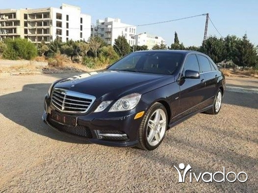 Mercedes-Benz in Tripoli - E350 2012