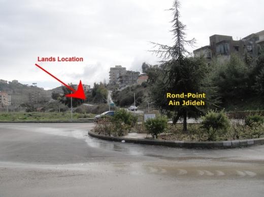 Land in Ain Jdideh - أرض للبيع 620 م مربع عين الجديده