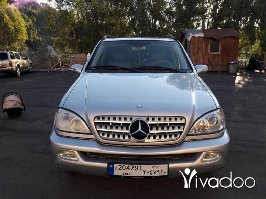 Mercedes-Benz in Tripoli - ML 350 model 2003
