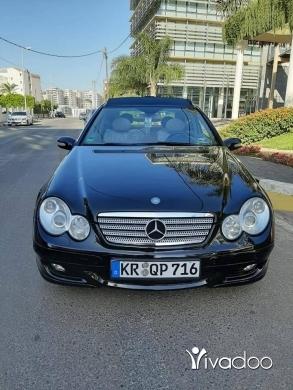 Mercedes-Benz in Tripoli - مرسيدس سي 230 الماني 2007