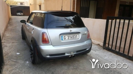 Mini in Port of Beirut - mini cooper S ( supercharge )