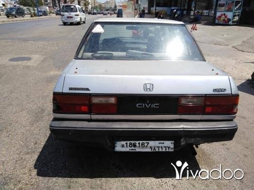 Honda in Al Beddaoui - هوندا سفيك مودال ٨٦ اتومتيك جنط فتحه