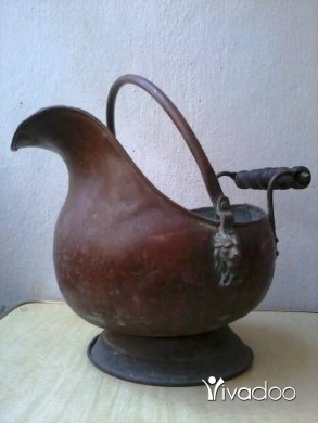 Other in Beirut City - antique brass Pot, 70-100 years , red copper, 30$
