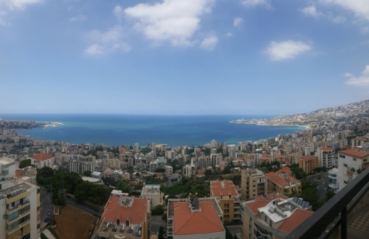 Apartments in Jounieh - Duplex for sale 280m sahel alma  panoramic sea view