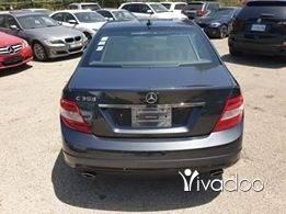 Mercedes-Benz in Beirut City - 2011 mercedes C300. Grey on black.
