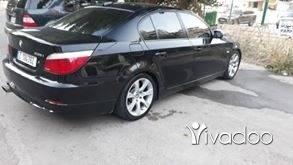 BMW in Beirut City - 535 black and black model 2008 super clean