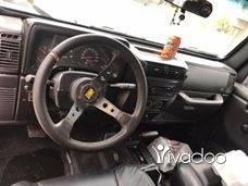 Jeep in Beirut City - Wrangler tj