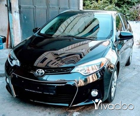 Toyota in Beirut City - Toyota corola mod 2014 screen touch camera klm 75000