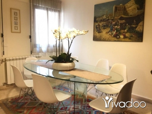 Apartments in Achrafieh -  A furnished 180 m2 apartment for rent in Achrafieh Prime location