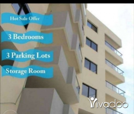 Apartments in Dbayeh - Luxury apartment for sale in Dbayeh + 3 parkings sea view