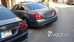 Mercedes-Benz in Tripoli - s 550 2011 mfawli