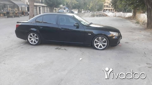 BMW in Taalabaya - 535 black and black model 2008 super clean