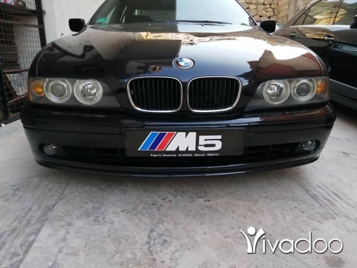 BMW in Deir Ammar - بي ام e39 لرك 2003 بلورق سبور بك جنط 19 للبيع