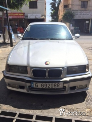 BMW in Beirut City - E36 25 1992