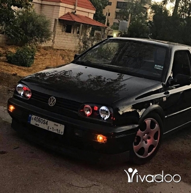 Volkswagen in Chtaura - Golf 3 VR6 black