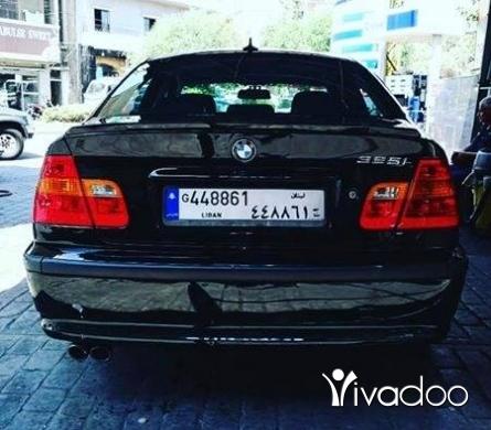 BMW in Beirut City - Bmw 325 black 2003