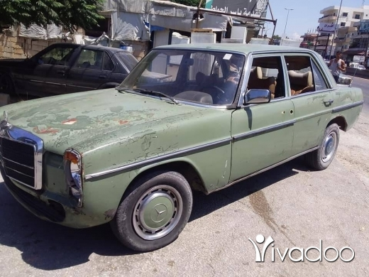 Mercedes-Benz in Tripoli - Atesh model 75 enkad benzin 4