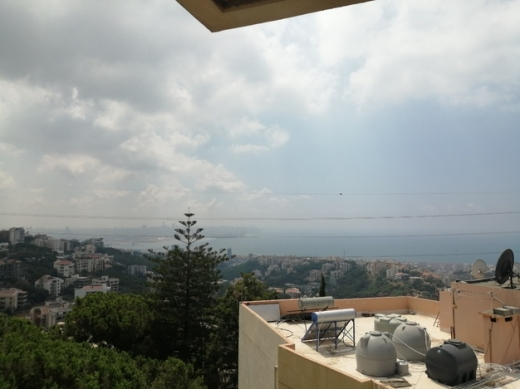 Apartments in Beit el Chaar - apartment for rent in beit el chaar fully furnished open sea view