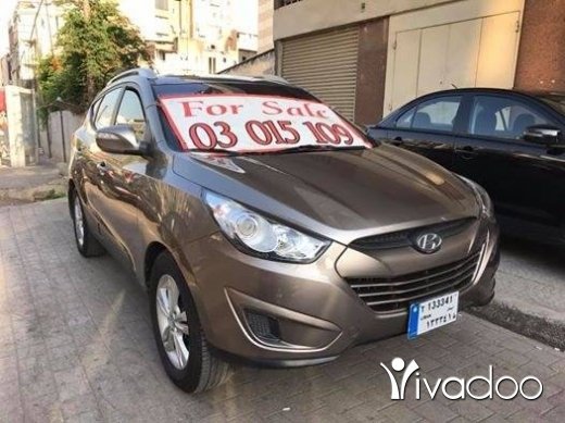 Hyundai in Beirut City - Hyundai tucson model 2011 4wd limited 85000 km one owner ☎️☎️